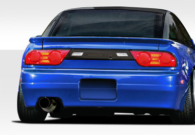 Fits Nissan 240SX HB Supercool Duraflex Rear Body Kit Bumper 1989-1994