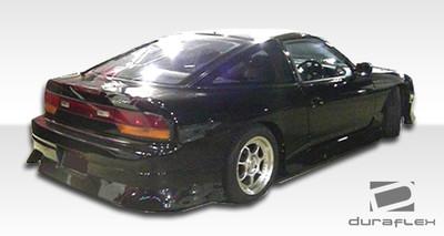 Fits Nissan 240SX HB Type U Duraflex Rear Body Kit Bumper 1989-1994