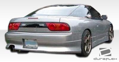 Fits Nissan 240SX HB V-Speed Duraflex Rear Body Kit Bumper 1989-1994