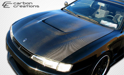 Fits Nissan 240SX M-1 Carbon Fiber Creations Body Kit- Hood 1997-1998