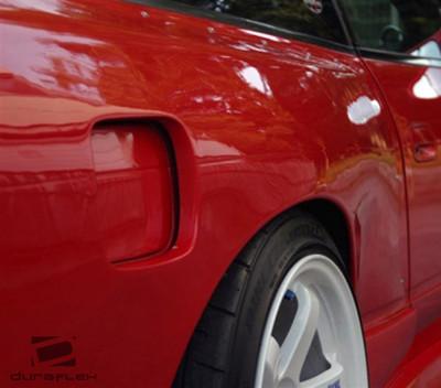 Fits Nissan 240SX M-1 Duraflex Fender Flares 1995-1998