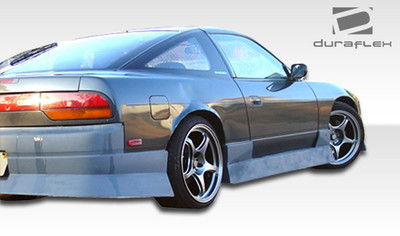 Fits Nissan 240SX Type U Duraflex Side Skirts Body Kit 1989-1994
