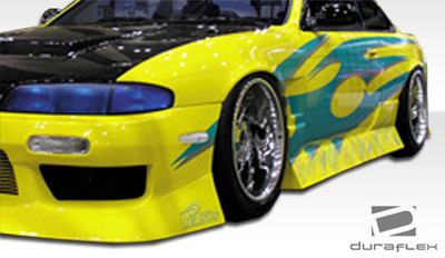 Fits Nissan 240SX Type U Duraflex Side Skirts Body Kit 1995-1998