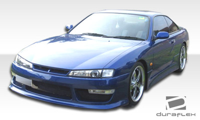 Fits Nissan 240SX V-Speed 2 Duraflex Front Body Kit Bumper 1997-1998