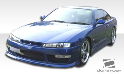 Fits Nissan 240SX V-Speed 2 Duraflex Front Body Kit Bumper 1997-1998