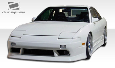 Fits Nissan 240SX V-Speed Duraflex Front Body Kit Bumper 1989-1994
