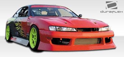 Fits Nissan 240SX V-Speed Duraflex Front Body Kit Bumper 1997-1998