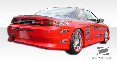 Fits Nissan 240SX V-Speed Duraflex Rear Body Kit Bumper 1995-1998
