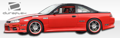 Fits Nissan 240SX V-Speed Duraflex Side Skirts Body Kit 1995-1998