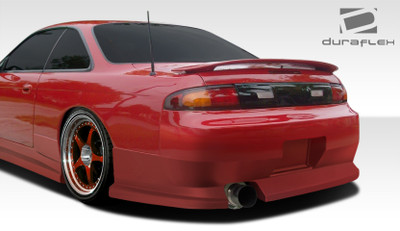 Fits Nissan 240SX WX-9 Duraflex Rear Body Kit Bumper 1995-1998