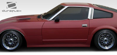 Fits Nissan 240Z 2DR MS-R Duraflex Side Skirts Body Kit 1970-1978