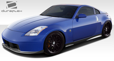 Fits Nissan 350Z 2DR N-3 Duraflex Full Body Kit 2003-2008