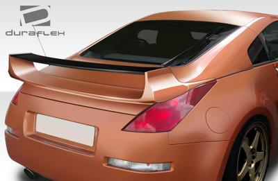 Fits Nissan 350Z 2DR Vader 3 Duraflex Body Kit-Wing/Spoiler 2003-2008