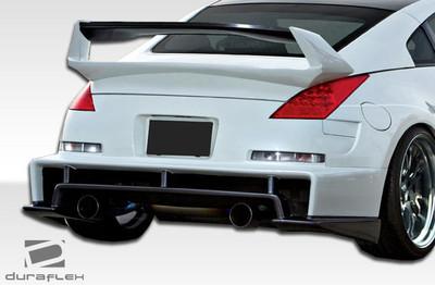 Fits Nissan 350Z AM-S Duraflex Rear Diffuser 2003-2009