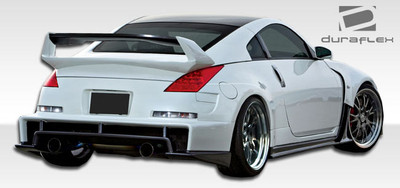 Fits Nissan 350Z AM-S Duraflex Rear Wide Body Kit Bumper 2003-2009