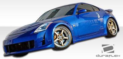 Fits Nissan 350Z AM-S Duraflex Side Skirts Body Kit 2003-2008