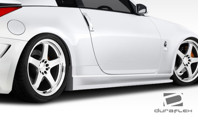 Fits Nissan 350Z AM-S GT Duraflex Side Skirts Body Kit 2003-2008