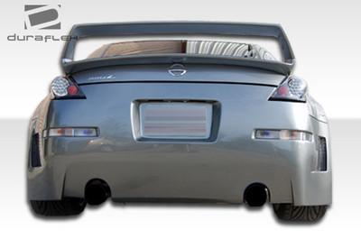 Fits Nissan 350Z B-2 Duraflex Rear Wide Body Kit Bumper 2003-2008