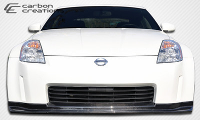 Fits Nissan 350Z N-1 Carbon Fiber Creations Front Bumper Lip Body Kit 2003-2005