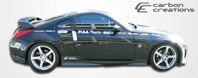 Fits Nissan 350Z N-1 Carbon Fiber Creations Side Skirts Body Kit 2003-2008