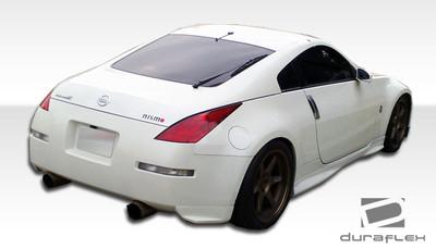 Fits Nissan 350Z N-1 Duraflex Rear Add On Body Kit Bumper 2003-2008