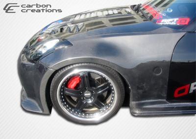 Fits Nissan 350Z OEM Carbon Fiber Creations Body Kit- Fenders 2003-2008