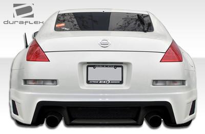 Fits Nissan 350Z R35 Duraflex Rear Body Kit Bumper 2003-2008