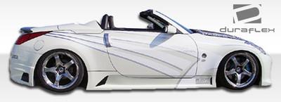 Fits Nissan 350Z R35 Duraflex Side Skirts Body Kit 2003-2008