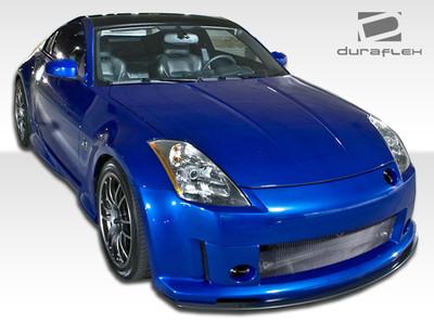 Fits Nissan 350Z S Design Duraflex Front Body Kit Bumper 2003-2008