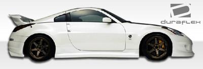 Fits Nissan 350Z Spirit Duraflex Side Skirts Body Kit 2003-2008