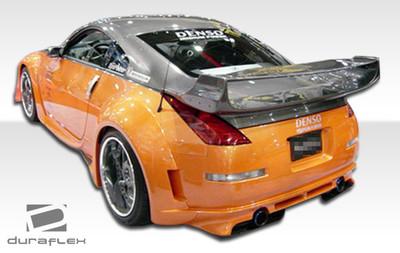 Fits Nissan 350Z Vader 3 Duraflex Rear Wide Body Kit Bumper 2003-2008