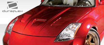 Fits Nissan 350Z Vader Duraflex Body Kit- Hood 2003-2006