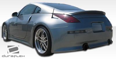 Fits Nissan 350Z V-Speed Duraflex Rear Body Kit Bumper 2003-2008