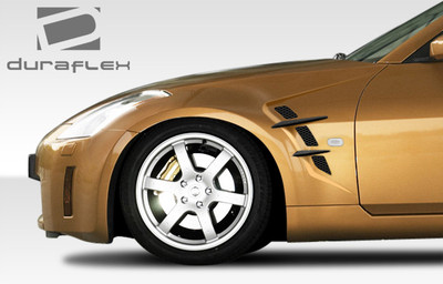 Fits Nissan 350Z W-1 Duraflex Body Kit- Fenders 2003-2008