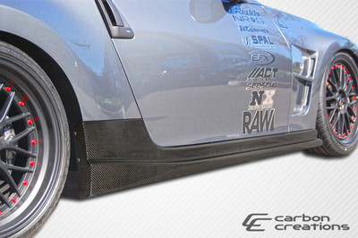 Fits Nissan 370Z N-1 Carbon Fiber Creations Side Skirts Body Kit 2009-2015
