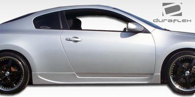 Fits Nissan Altima 2DR Racer Duraflex Side Skirts Body Kit 2008-2012