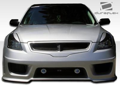 Fits Nissan Altima 4DR Sigma Duraflex Front Body Kit Bumper 2007-2009