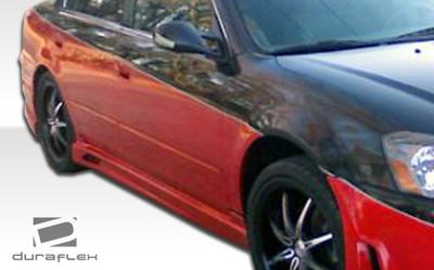 Fits Nissan Altima Cyber Duraflex Side Skirts Body Kit 2002-2006