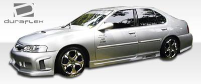 Fits Nissan Altima Spyder Duraflex Side Skirts Body Kit 1998-2001