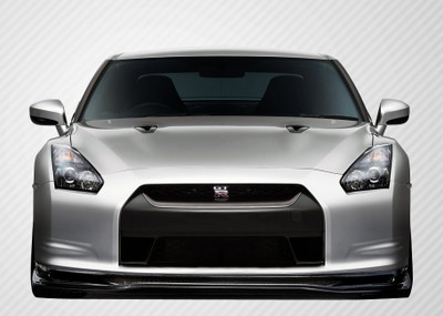 Fits Nissan GTR Eros Version 5 Carbon Fiber Front Bumper Lip Body Kit 2009-2011