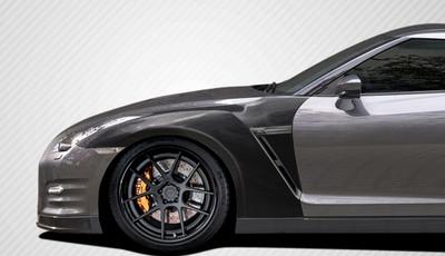 Fits Nissan GTR OEM Carbon Fiber Creations Body Kit- Fenders 2009-2015