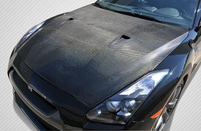 Fits Nissan GTR OEM Carbon Fiber Creations Body Kit- Hood 2009-2015