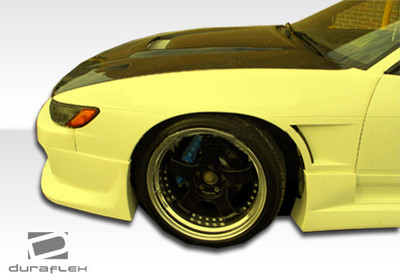 Fits Nissan S13 Silvia 2DR M-1 Duraflex Body Kit- Fenders 1989-1994