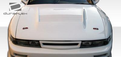 Fits Nissan S13 Silvia D-1 Duraflex Body Kit- Hood 1989-1994