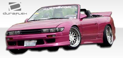 Fits Nissan S13 Silvia V-Speed Duraflex Front Body Kit Bumper 1989-1994