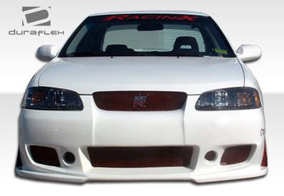 Fits Nissan Sentra B-2 Duraflex Front Body Kit Bumper 2000-2003