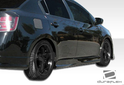 Fits Nissan Sentra D-Sport Duraflex Side Skirts Body Kit 2007-2012