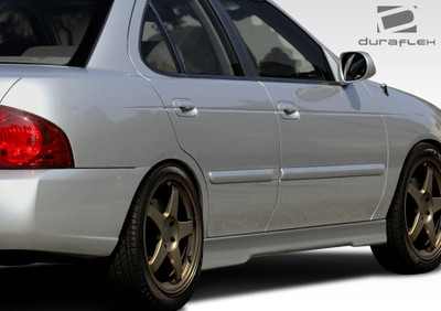 Fits Nissan Sentra Evo 5 Duraflex Side Skirts Body Kit 2000-2006