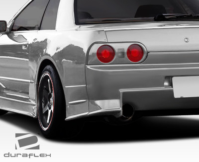 Fits Nissan Skyline 2DR R324 Conversion Duraflex Body Kit- Fenders 1989-1994