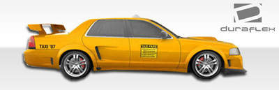 Ford Crown Victoria GT Concept Duraflex Side Skirts Body Kit 1998-2007